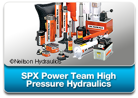 SPX Power Team Hydraulic High Pressure