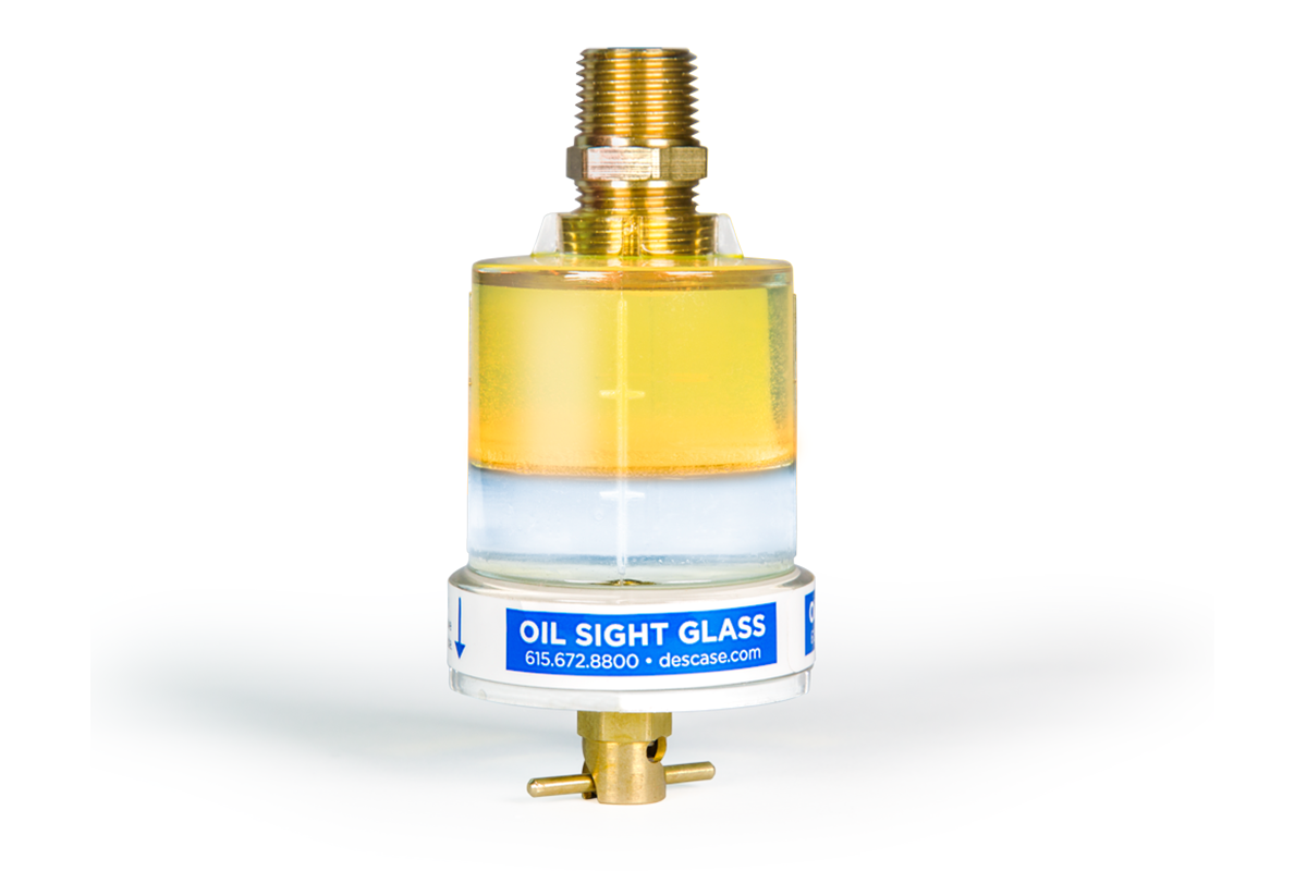 DES-CASE Oil Sight Glasses: Original Solution for Oil Inspection