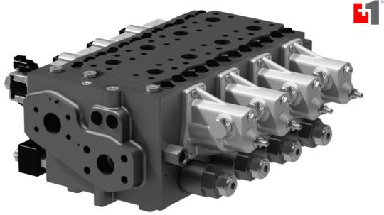 Danfoss PVG 128 & 256 Proportional Valves